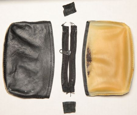 Pouch completely taken apart