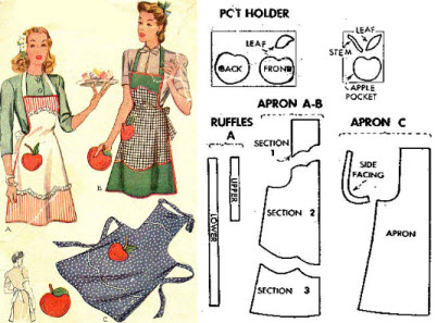 Top Ten Free Apron Sewing Patterns - Make Your Own Apron Today